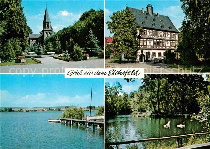 AK / Ansichtskarte Thueringen Region Germershausen Gieboldehausen Seeburger See Rhumequelle im Eichsfeld Kat. Erfurt