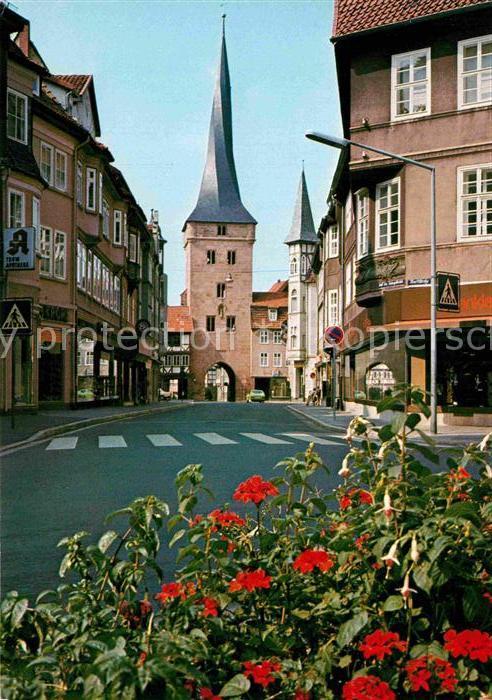 AK / Ansichtskarte Duderstadt Blick zum Westerturm Kat. Duderstadt