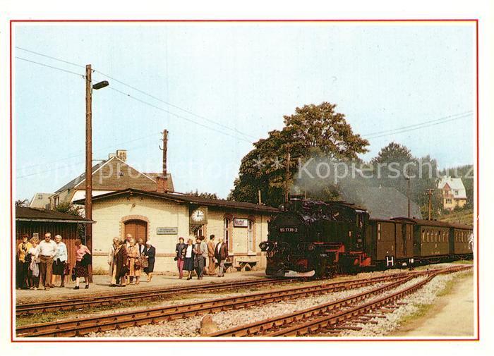 AK / Ansichtskarte Lokomotive Bahnhof Neudorf  Kat. Eisenbahn