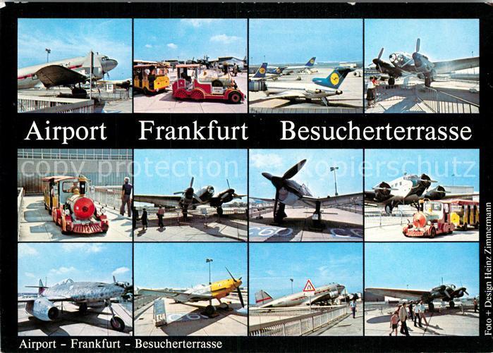 Ak Ansichtskarte Flughafen Airport Aeroporto Frankfurt Am Main
