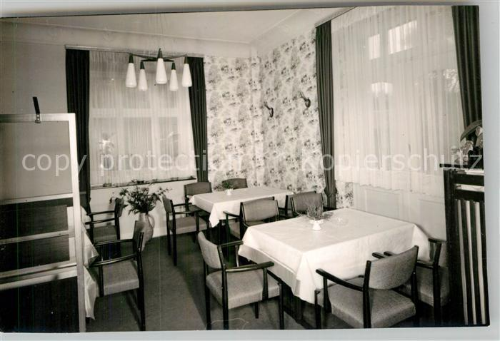 AK / Ansichtskarte Hoppecke Haus Hillebrand Speiseraum Kat. Brilon