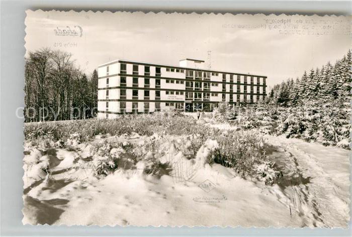 AK / Ansichtskarte Hoheleye Sanatorium Auf der Hoheleye Kat. Winterberg