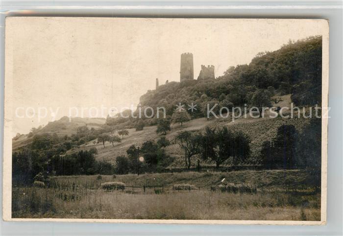 AK / Ansichtskarte Bingen Rhein Ruine Ehrenfels  Kat. Bingen am Rhein
