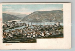 AK / Ansichtskarte Bingen Rhein Panorama  Kat. Bingen am Rhein