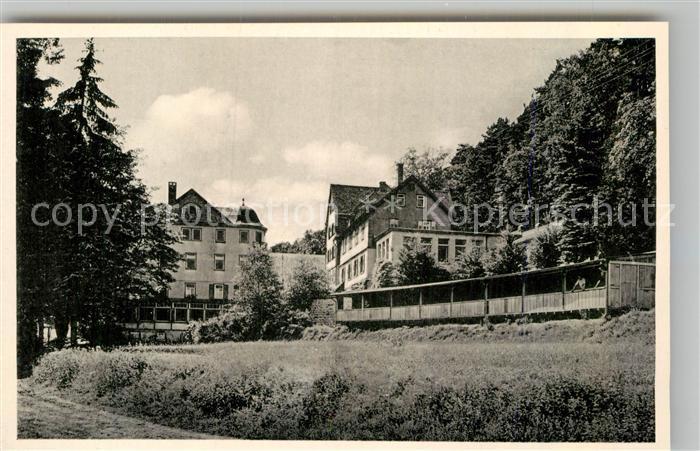 AK / Ansichtskarte Zell Odenwald Cafe Konditorei Orth Kat. Bad Koenig