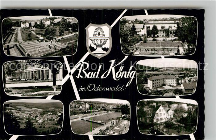 AK / Ansichtskarte Bad Koenig Odenwald Panorama Sanatorium Kurpark Panorama Kat. Bad Koenig