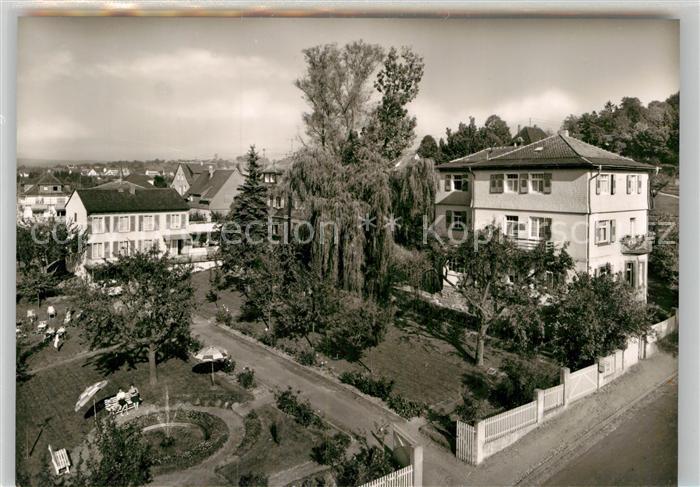AK / Ansichtskarte Koenig Bad Kur Erholungsheim Haus Keller Hannelore Elisabeth Blaues Haus Kat. Bad Koenig