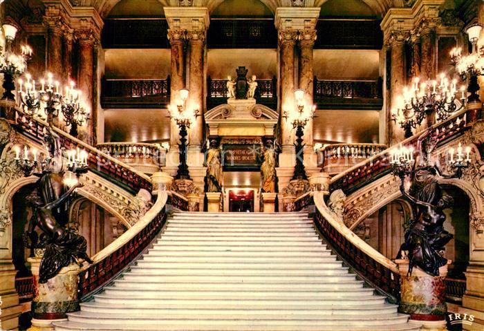 AK / Ansichtskarte Theater Paris Theatre de l Opera Escalier d Honneur Kat.  Theater