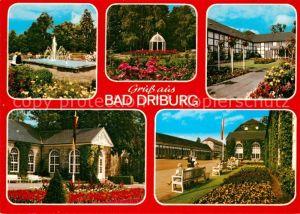 AK / Ansichtskarte Bad Driburg Kurpark Rosengarten Kurhaus Kat. Bad Driburg