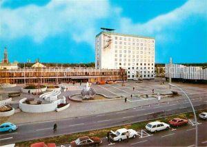 AK / Ansichtskarte Wolfsburg Rathaus Brunnen Volkswagenstadt Kat. Wolfsburg