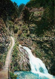 AK / Ansichtskarte Allerheiligen Oppenau Treppenfall Wasserfall im Schwarzwald Kat. Oppenau