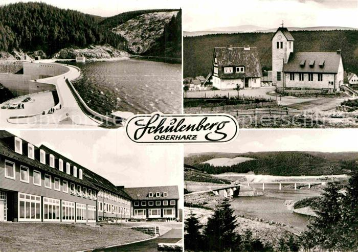 AK / Ansichtskarte Schulenberg Oberharz Bundesbahn Kinderheim Kat. Schulenberg im Oberharz