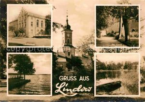 AK / Ansichtskarte Lindow Mark Kulturhaus Kloster Am Gudelack See Am Wutzsee Kat. Lindow Mark