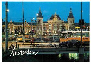AK / Ansichtskarte Amsterdam Niederlande Central Station Bahnhof Kat. Amsterdam