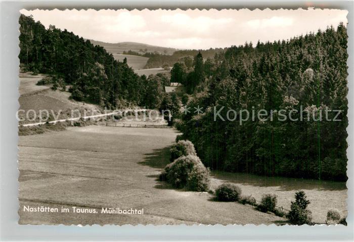 AK / Ansichtskarte Nastaetten Taunus Muehlbachtal  Kat. Nastaetten