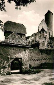 AK / Ansichtskarte Gundelsheim Neckar Burg Hornberg