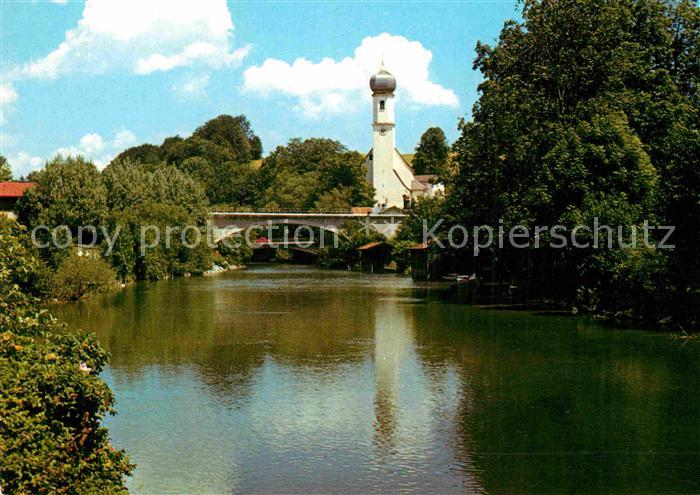AK / Ansichtskarte Gmund Tegernsee Blick zur Kirche Kat. Gmund a.Tegernsee