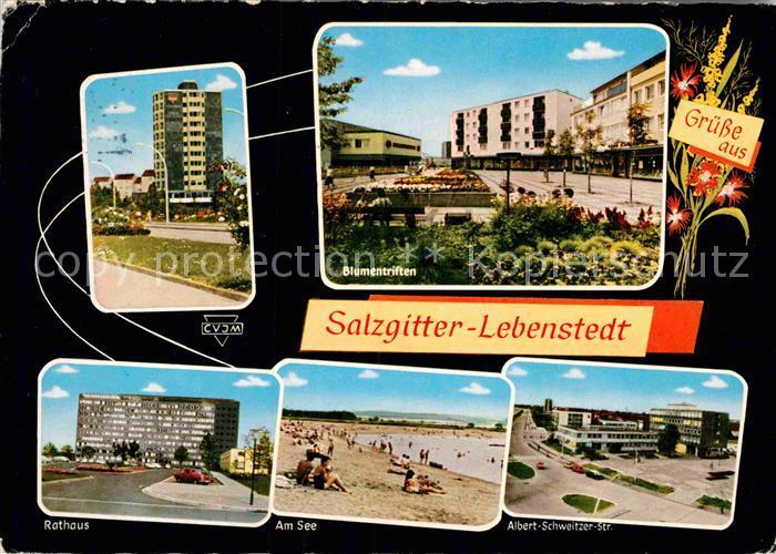 AK / Ansichtskarte Lebenstedt Rathaus Albert Schweitzer Str. Kat. Salzgitter