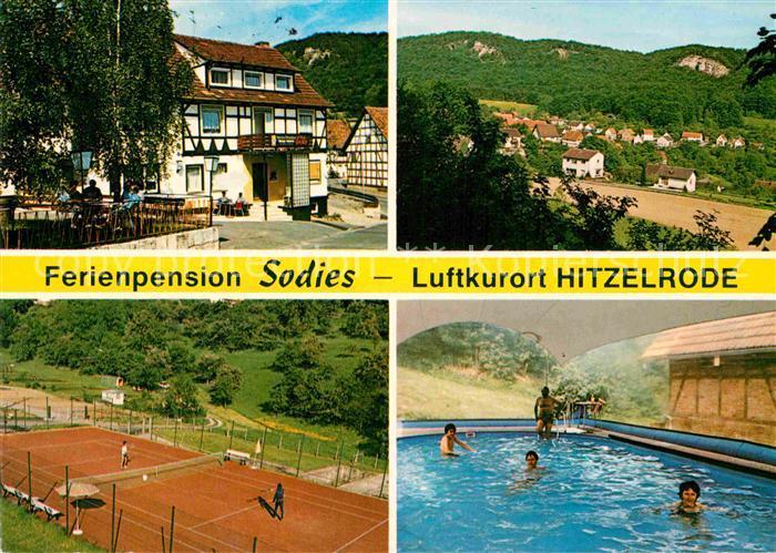 AK / Ansichtskarte Hitzelrode Ferienpension Sodies  Kat. Meinhard