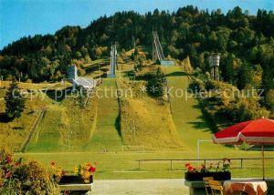 AK / Ansichtskarte Garmisch Partenkirchen Olympia Skistadion Kat. Garmisch Partenkirchen