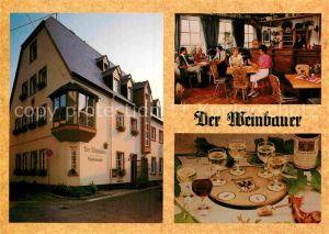 AK / Ansichtskarte Boppard Rhein Der Weinbauer Kat. Boppard