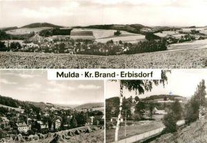 AK / Ansichtskarte Mulda Sachsen  Kat. Mulda Sachsen
