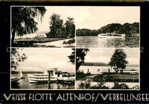 AK / Ansichtskarte Altenhof Werbellinsee Weisse Flotte