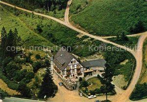 AK / Ansichtskarte Wiemeringhausen Hotel Restaurant Haus Wildenstein Fliegeraufnahme Kat. Olsberg