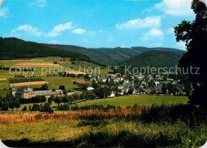 AK / Ansichtskarte Oberhundem Panorama Luftkurort Kat. Kirchhundem