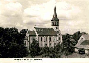 AK / Ansichtskarte Ottendorf Okrilla Kirche Kat. Ottendorf Okrilla