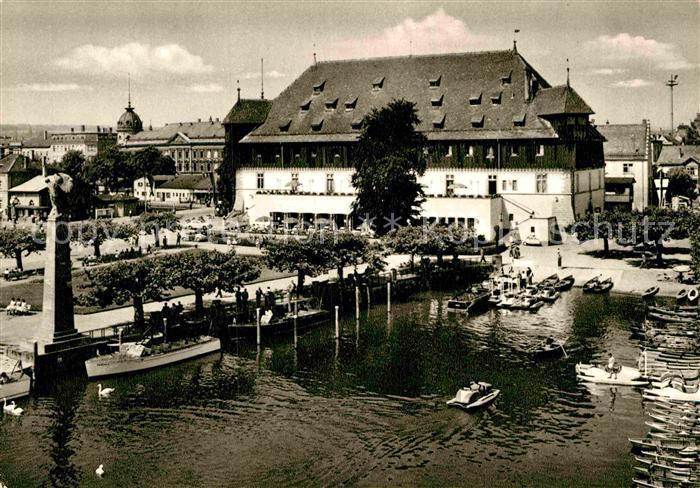 AK / Ansichtskarte Konstanz Bodensee Konzil Bootshafen Kat. Konstanz