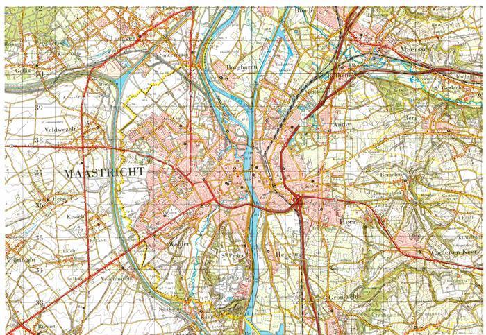 AK / Ansichtskarte Maastricht Topografische Karte  Kat. Maastricht