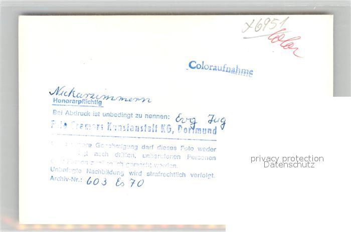 AK / Ansichtskarte Neckarzimmern Evangelisches Jugendheim Kat. Neckarzimmern 1