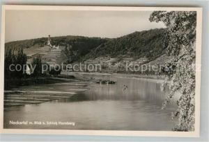 AK / Ansichtskarte Gundelsheim Neckar Blick zur Burg Hornberg