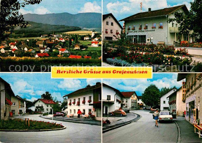 AK / Ansichtskarte Grafenwiesen Teilansichten Ferienort im Bayerischen Wald Kat. Grafenwiesen