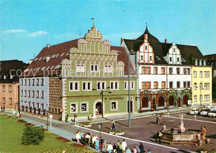 AK / Ansichtskarte Weimar Thueringen Stadthaus Lucas Cranach Haus Kat. Weimar