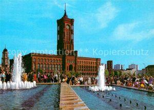 AK / Ansichtskarte Berlin Rotes Rathaus Brunnen Kat. Berlin