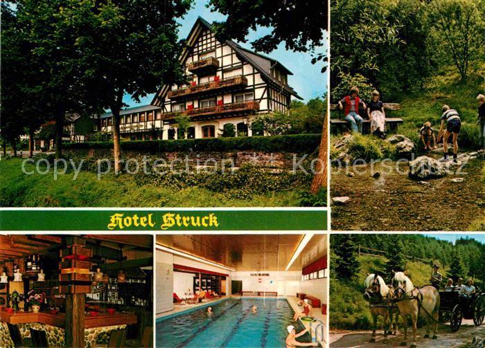 AK / Ansichtskarte Niederhelden Attendorn Hotel Struck Kat. Attendorn