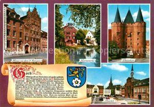 AK / Ansichtskarte Goch Haus zu den 5 Ringen Markt Steintor  Kat. Goch