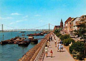 AK / Ansichtskarte Emmerich Rhein Rheinpromenade  Kat. Emmerich am Rhein