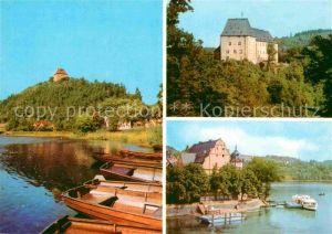 AK / Ansichtskarte Schleiz Erholungszentren Ziegenrueck Saale Jugendherberge Burgk Schloss Museum Saalburg Dampferanlegestelle Stausee Kat. Schleiz