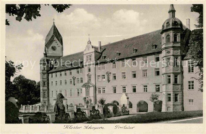 AK / Ansichtskarte Scheyern Kloster Scheyern Praelatur Kat. Scheyern