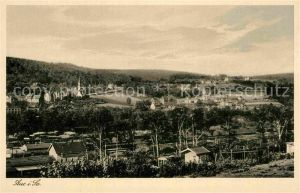 AK / Ansichtskarte Aue Erzgebirge Panorama Kat. Aue