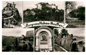 AK / Ansichtskarte Neuffen Burgruine Hohen Neuffen Anno 1534 Eduard Paulus Kat. Neuffen