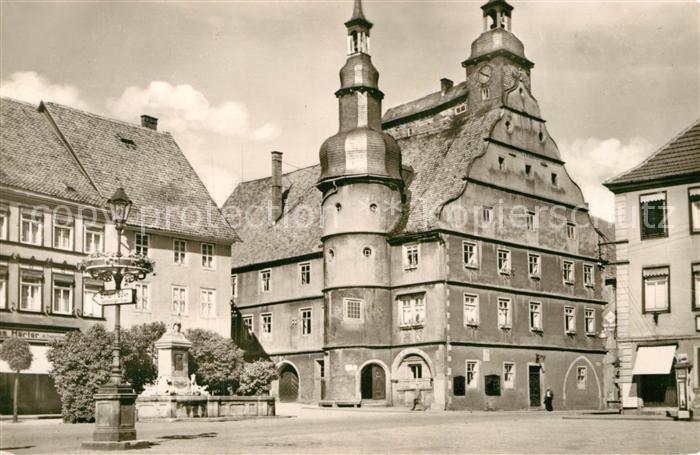 AK / Ansichtskarte Hildburghausen Rathaus  Kat. Hildburghausen