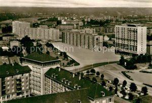 AK / Ansichtskarte Dresden Blick vom Rathausturm auf Amalien  und Steinstrasse Neubauten Kat. Dresden Elbe