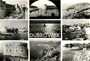 AK / Ansichtskarte Dubrovnik Ragusa Fliegeraufnahme Hafen  Kat. Dubrovnik