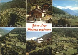 AK / Ansichtskarte Grone Loye Panorama Plateau superieur Alpes