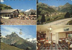 AK / Ansichtskarte Brunni Engelberg Bergrestaurant Brunni Ristis Luftseilbahn Alpen Kat.