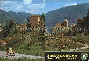 AK / Ansichtskarte Unzmarkt Frauenburg Burg Sankt Jakobskirche Kat. Unzmarkt Frauenburg